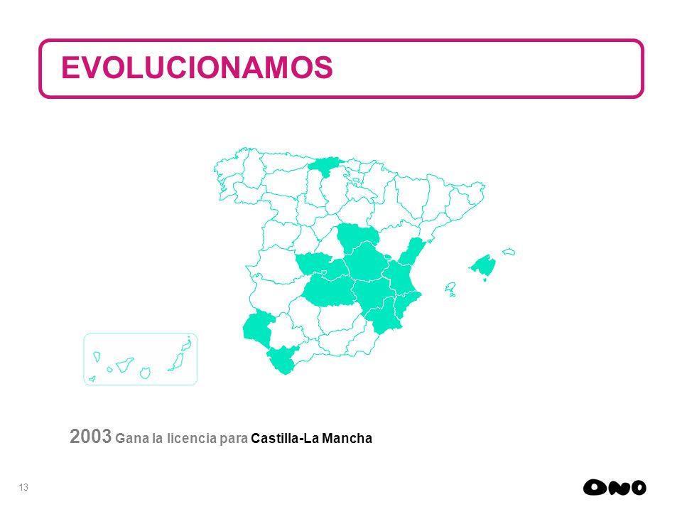 EVOLUCIONAMOS 2003 Gana la licencia para Castilla-La Mancha