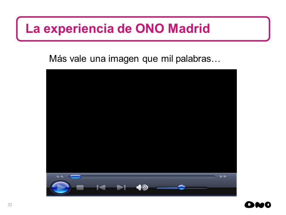La experiencia de ONO Madrid