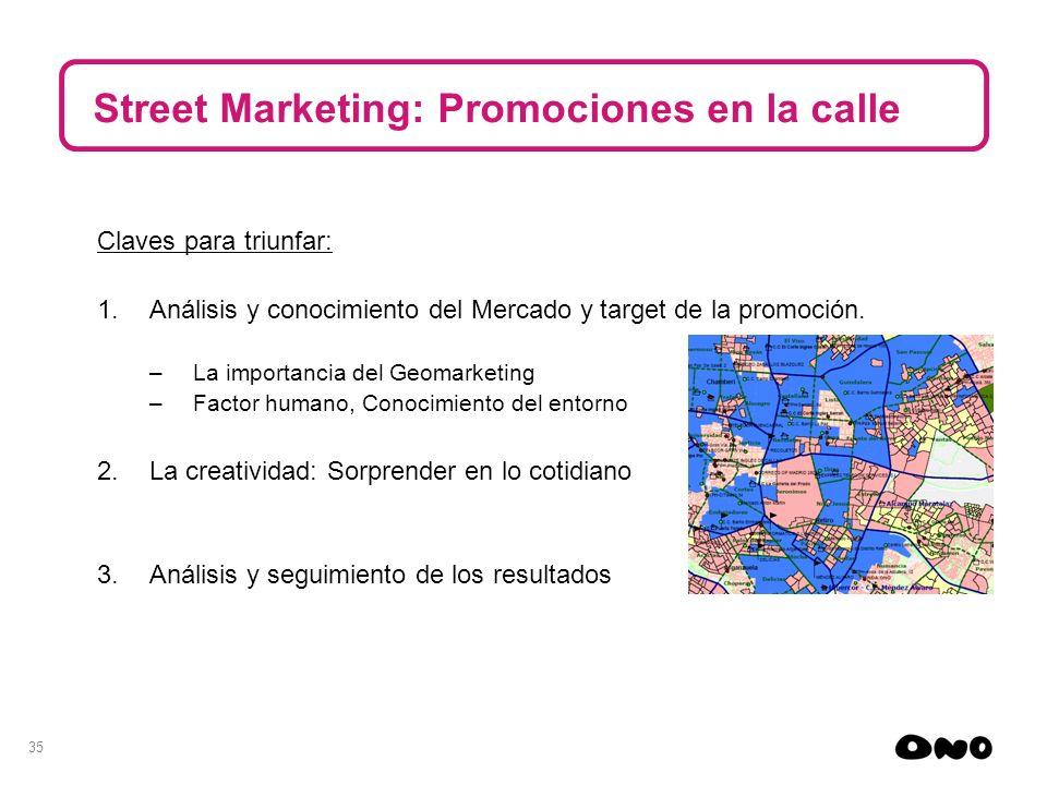 Street Marketing: Promociones en la calle