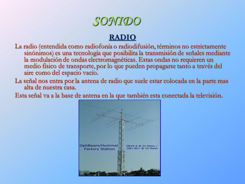 SONIDO RADIO.