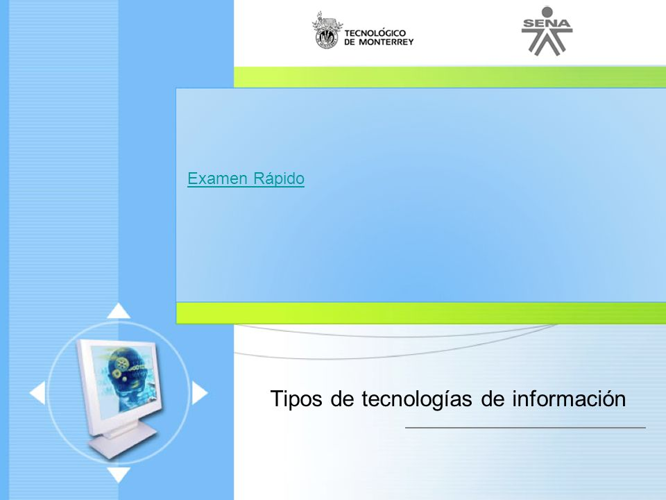 Tipos de tecnologías de información