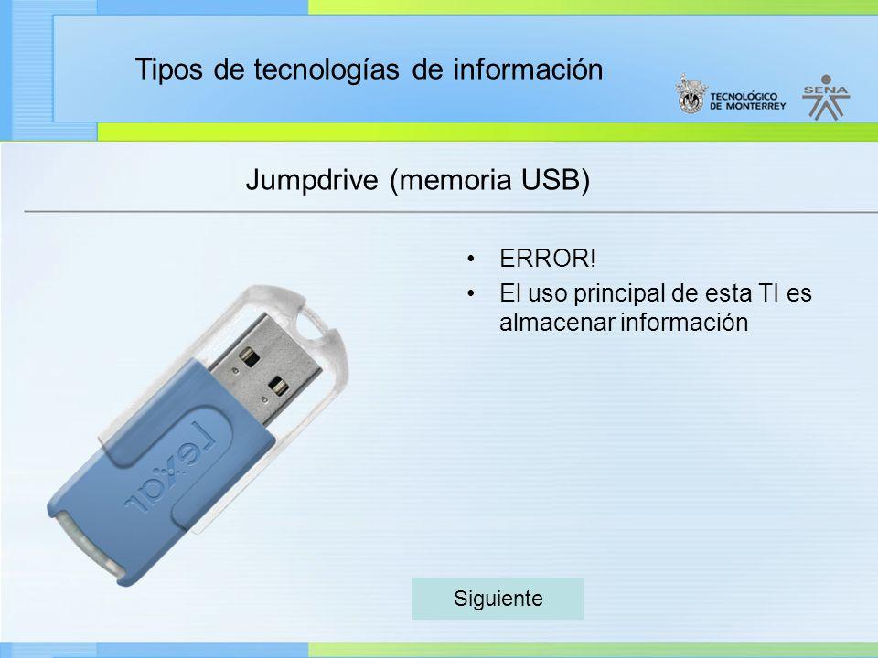 Jumpdrive (memoria USB)