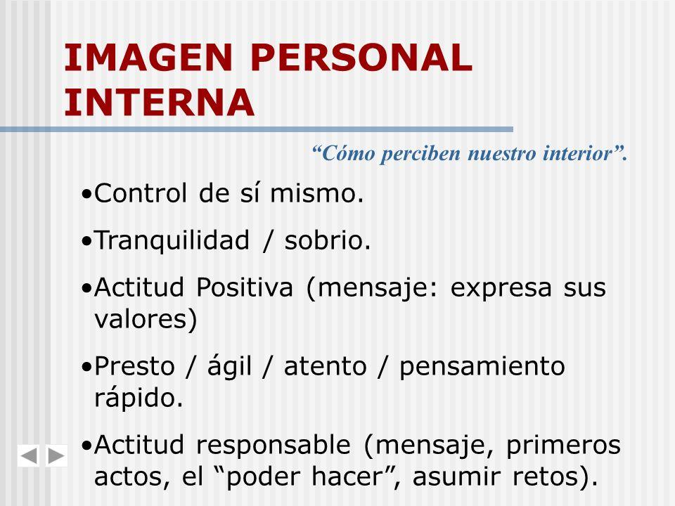 IMAGEN PERSONAL INTERNA