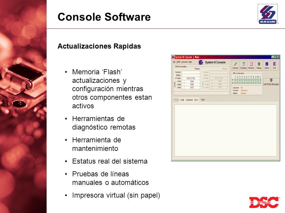 Console Software Actualizaciones Rapidas