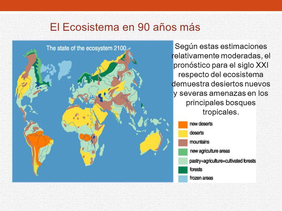 El Ecosistema en 90 años más