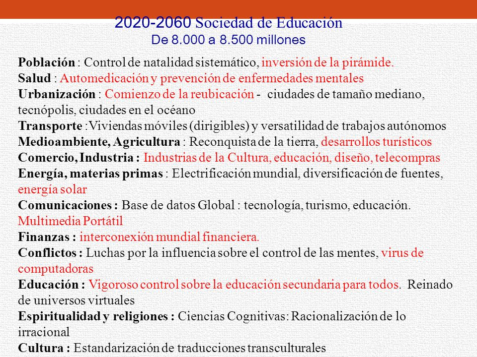 2020-2060 Sociedad de Educación