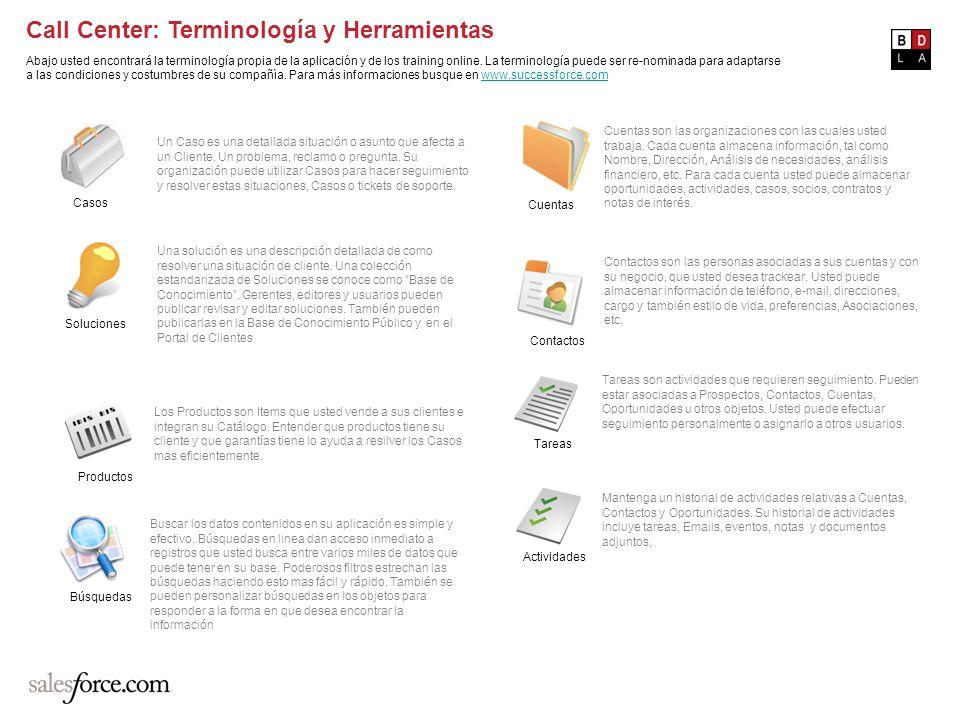 Call Center: Terminología y Herramientas