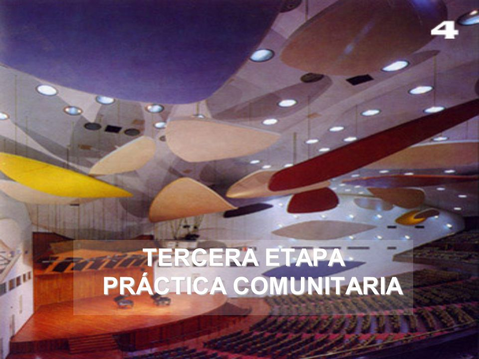 TERCERA ETAPA PRÁCTICA COMUNITARIA