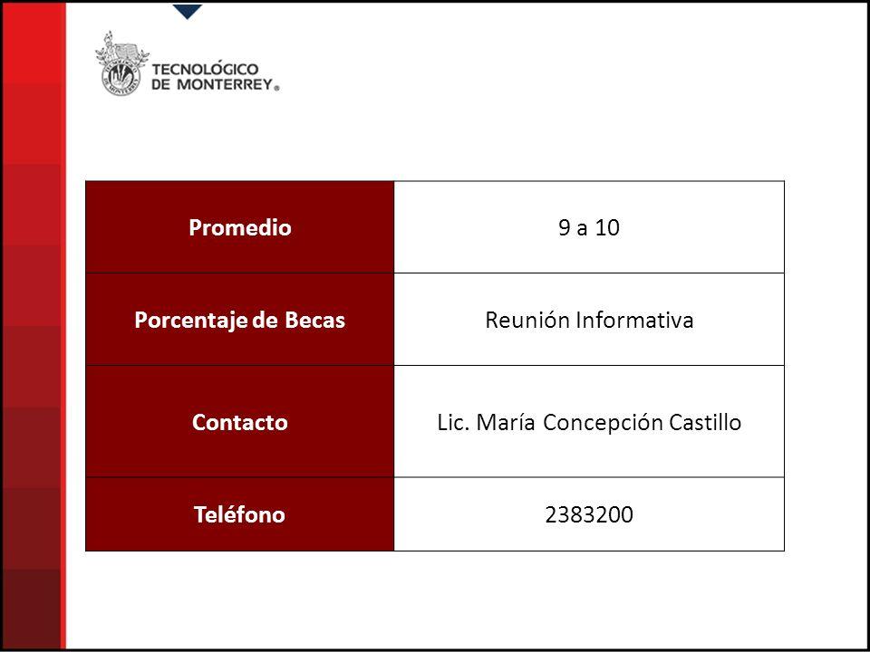 Lic. María Concepción Castillo