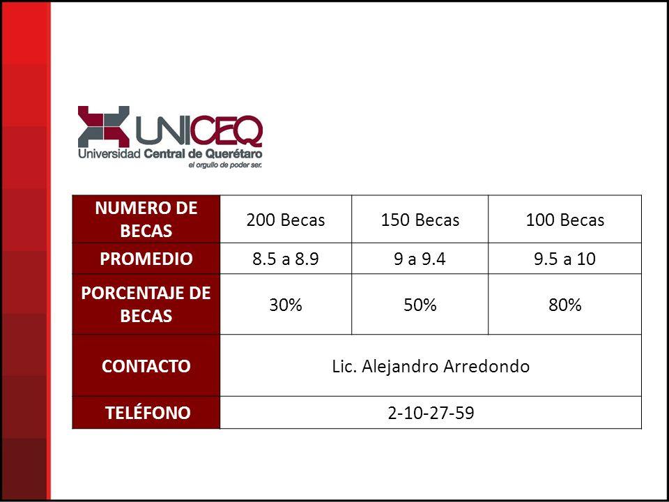Lic. Alejandro Arredondo