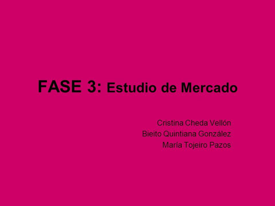 FASE 3: Estudio de Mercado