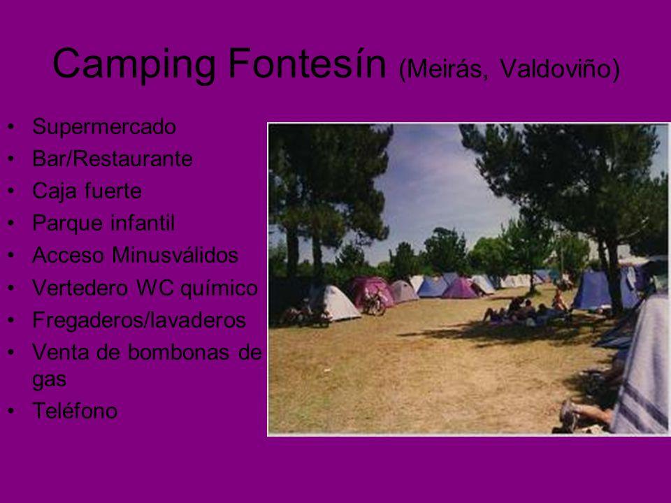 Camping Fontesín (Meirás, Valdoviño)