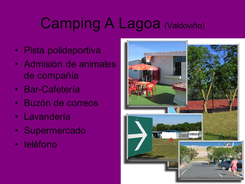 Camping A Lagoa (Valdoviño)