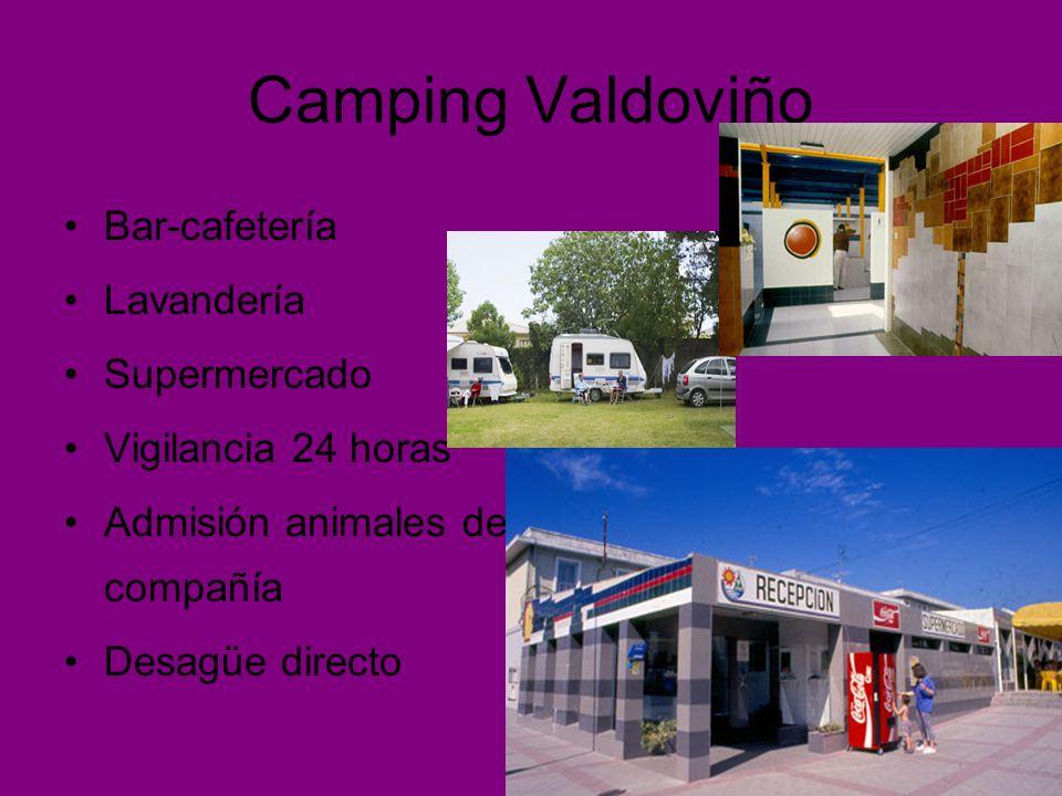 Camping Valdoviño Bar-cafetería Lavandería Supermercado