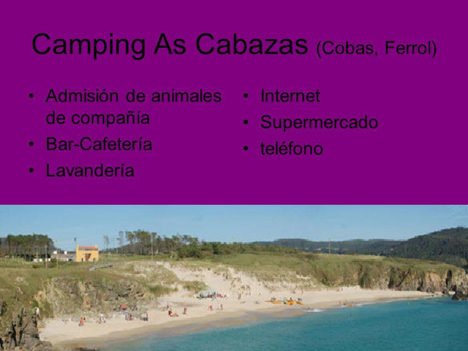 Camping As Cabazas (Cobas, Ferrol)