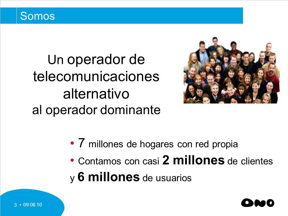 telecomunicaciones alternativo Un operador de al operador dominante