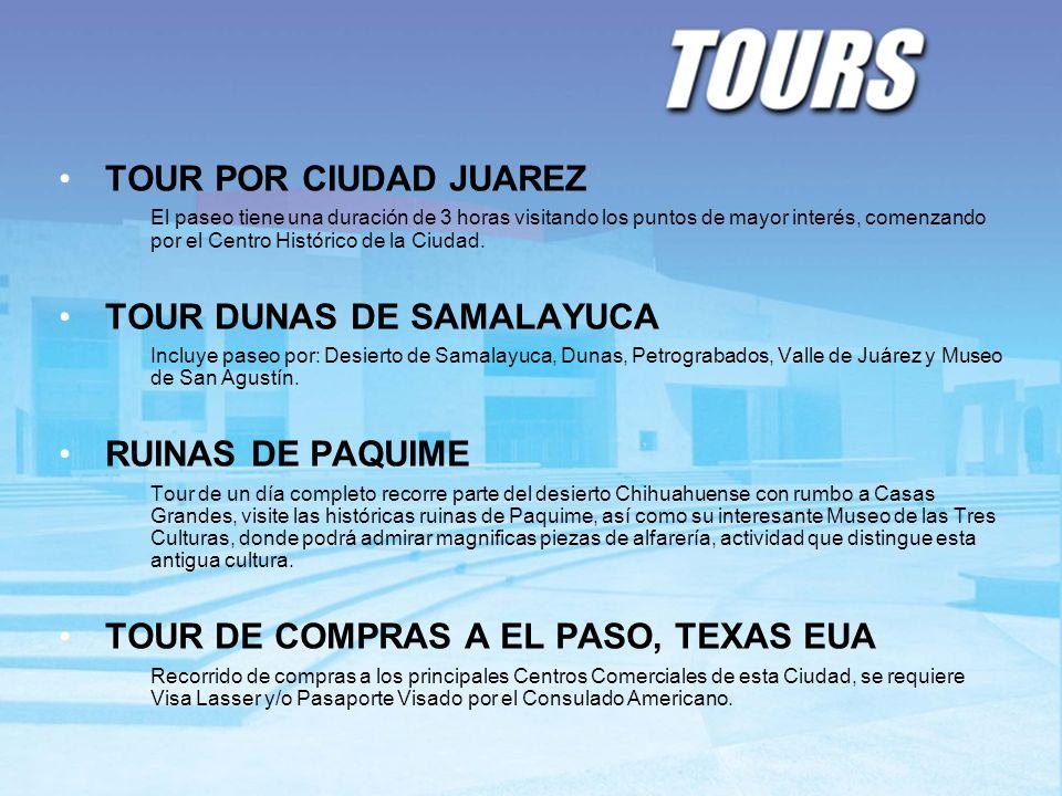 TOUR DUNAS DE SAMALAYUCA