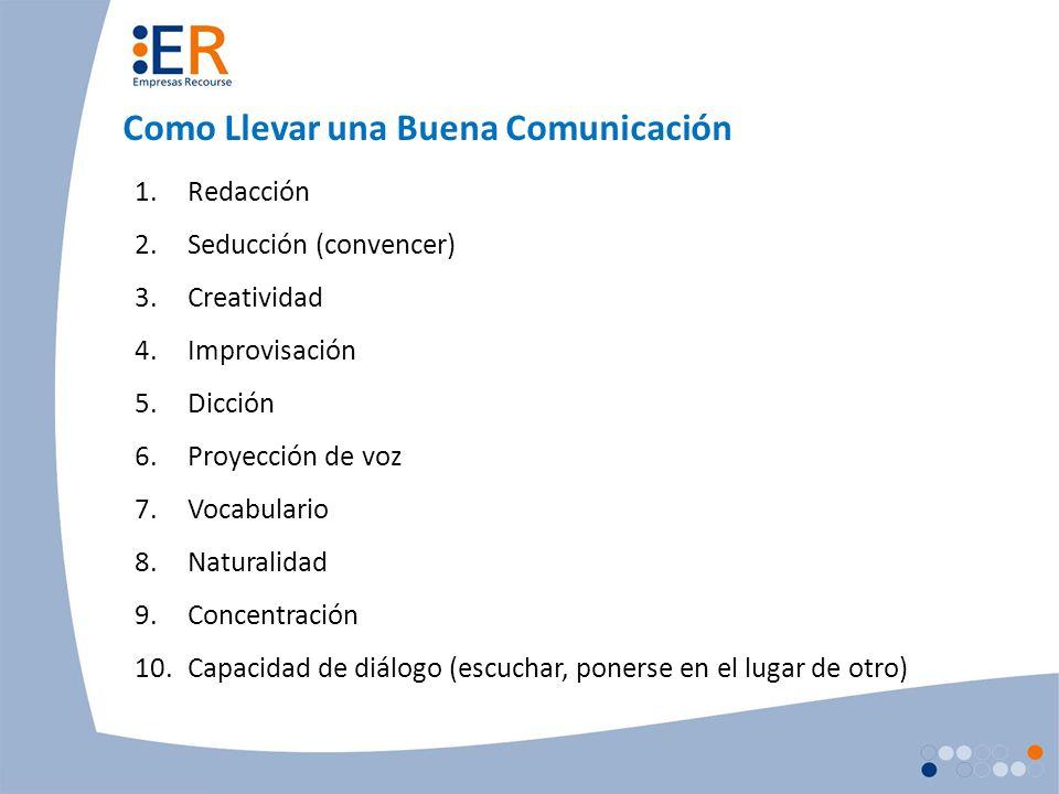 Como Llevar una Buena Comunicación