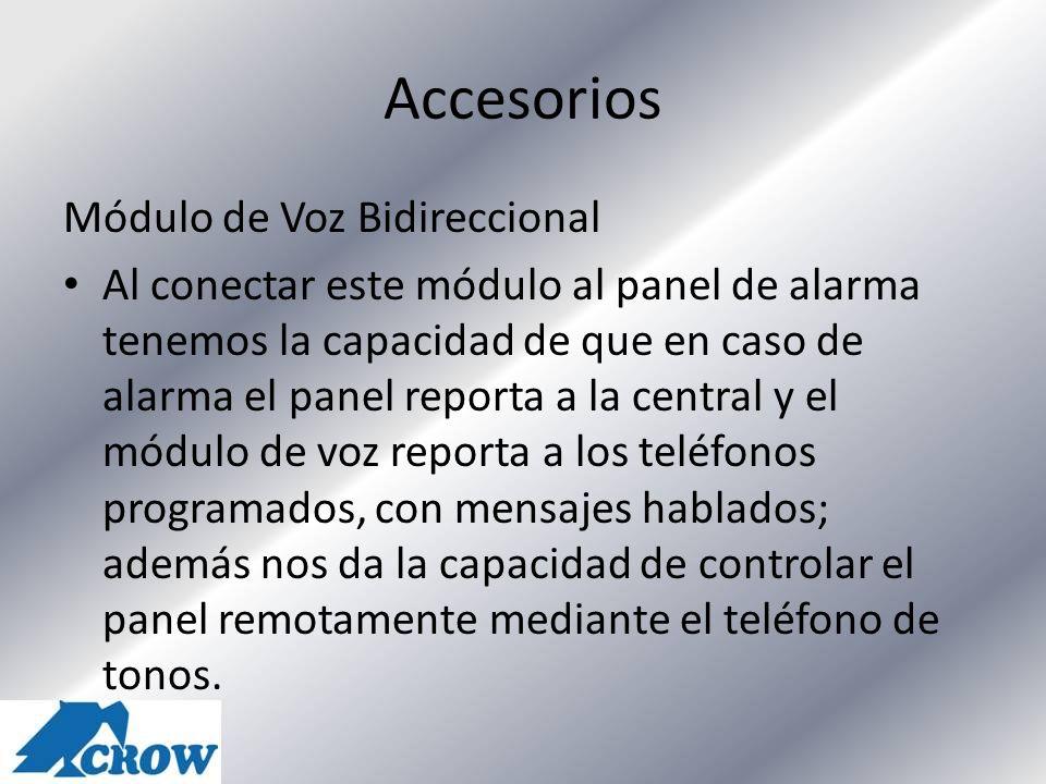 Accesorios Módulo de Voz Bidireccional