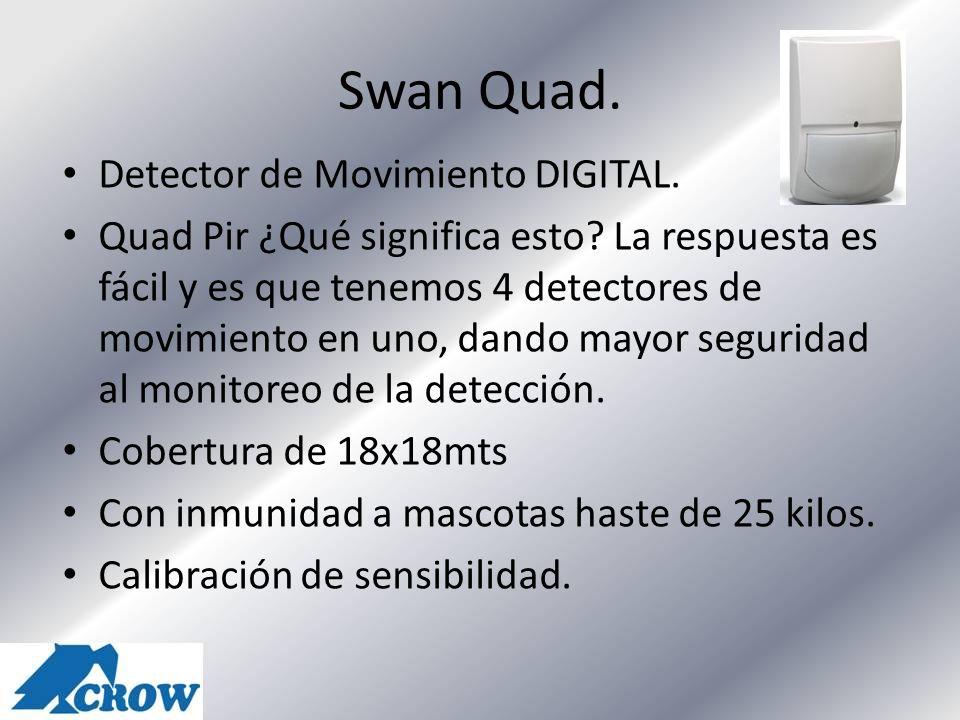 Swan Quad. Detector de Movimiento DIGITAL.