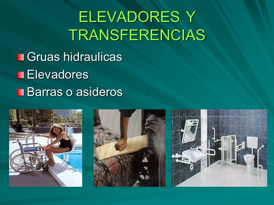 ELEVADORES Y TRANSFERENCIAS