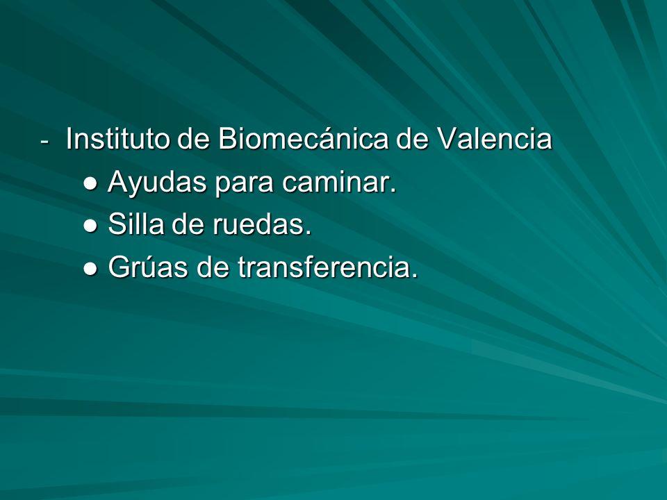 Instituto de Biomecánica de Valencia