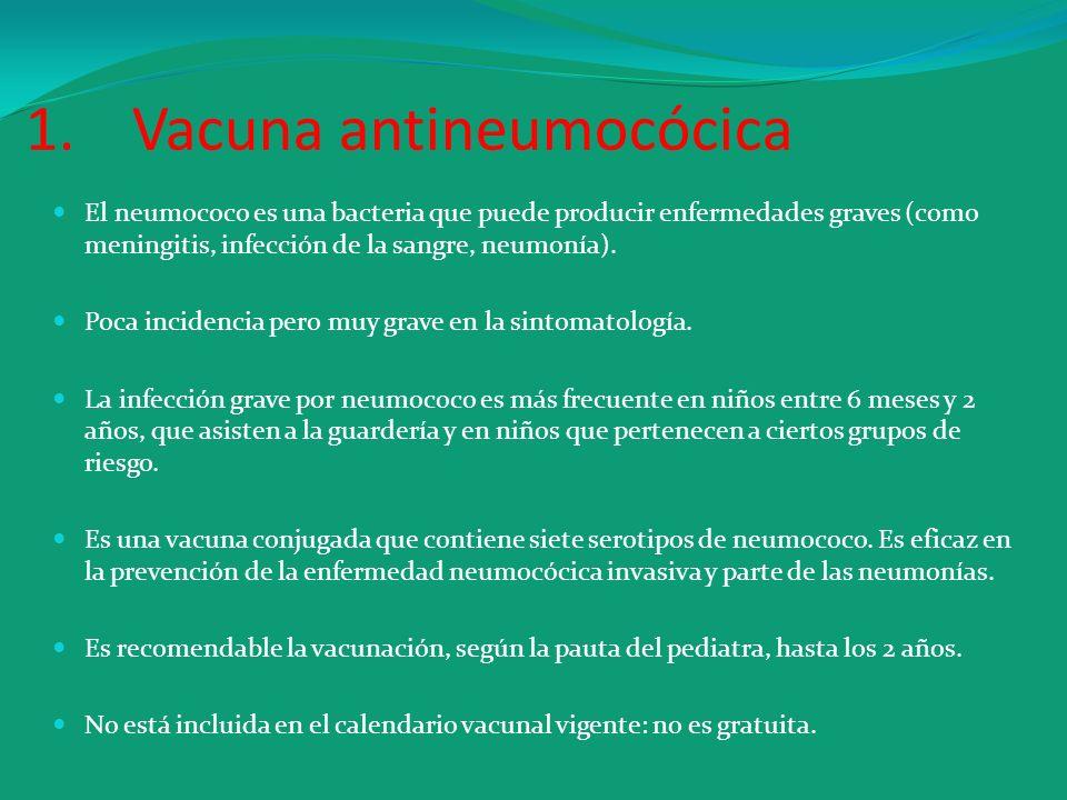 Vacuna antineumocócica