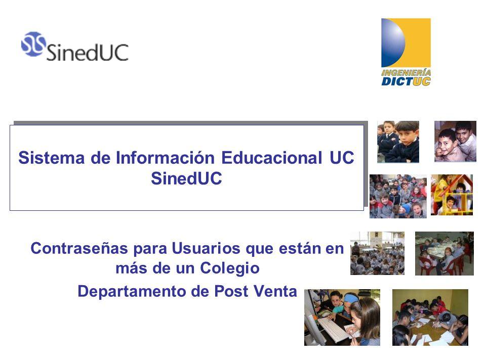 Sistema de Información Educacional UC SinedUC