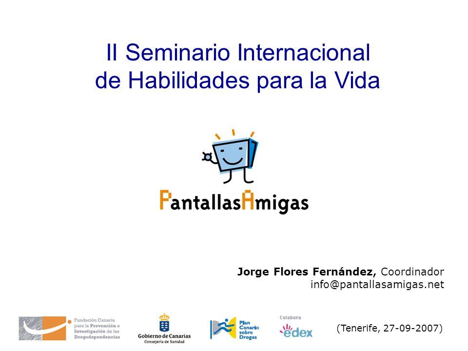 II Seminario Internacional de Habilidades para la Vida