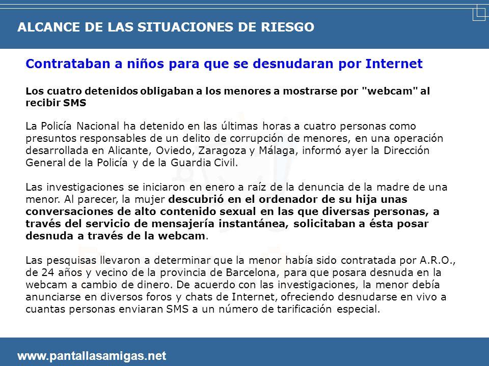 ALCANCE DE LAS SITUACIONES DE RIESGO