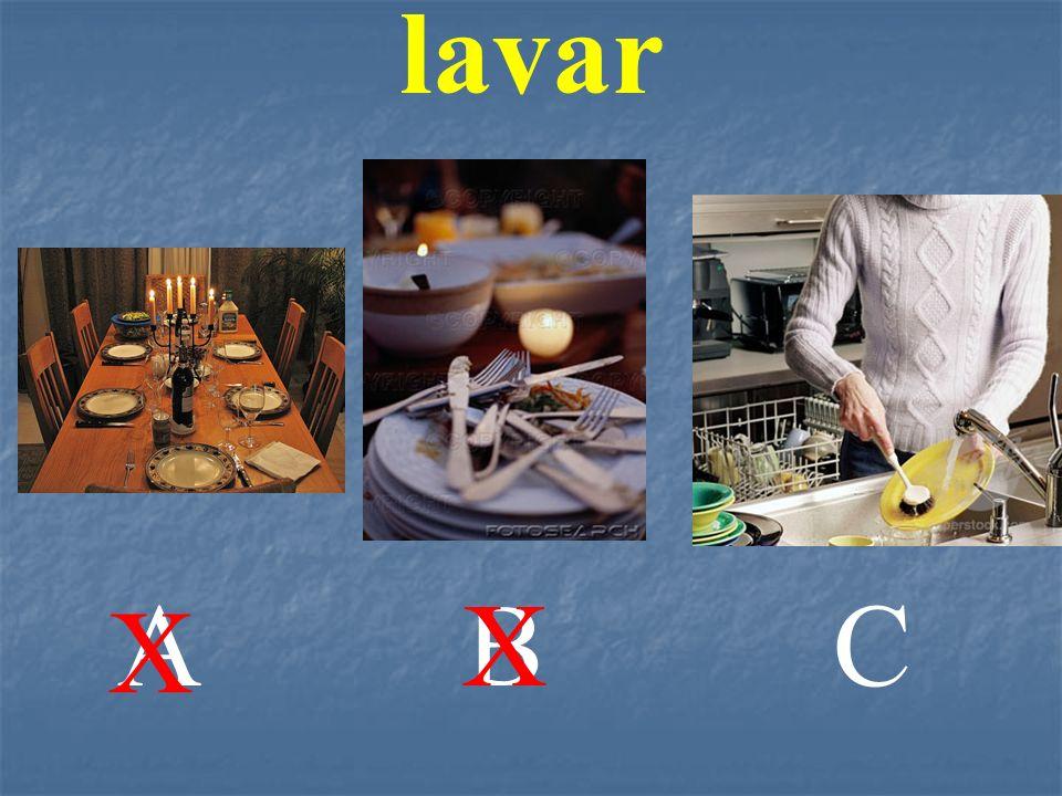 lavar A B X C X
