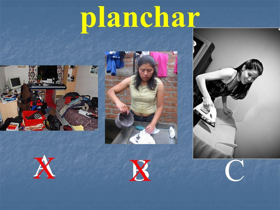 planchar A X B X C