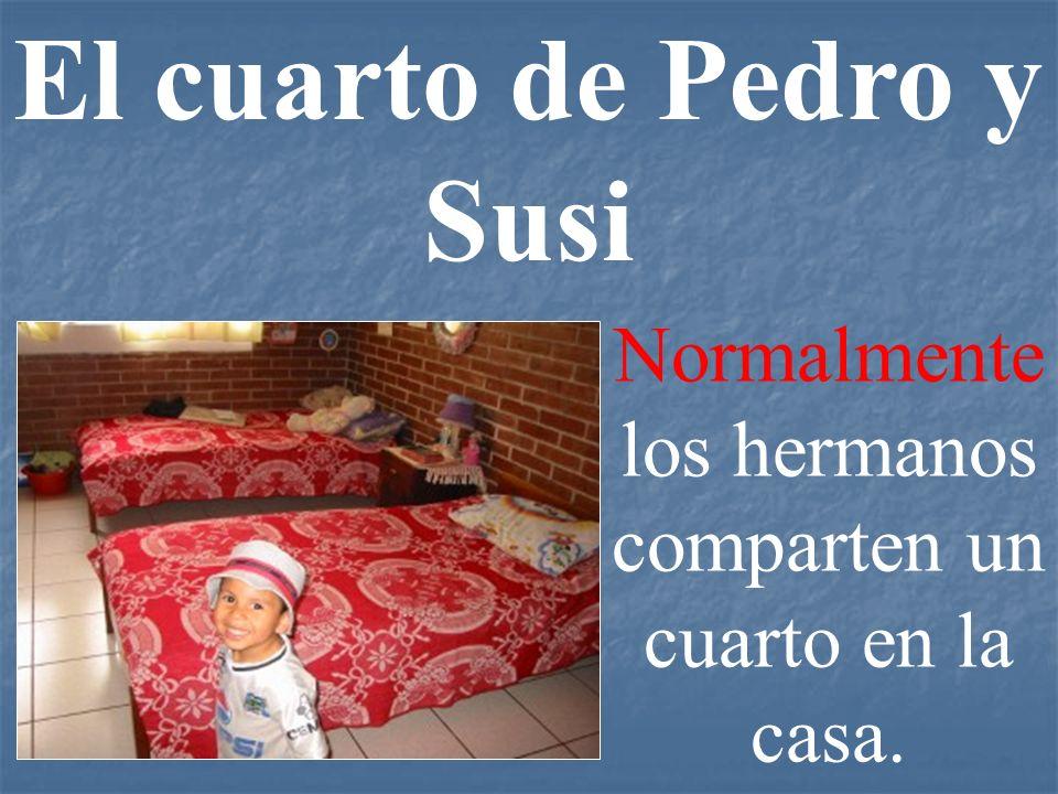 El cuarto de Pedro y Susi