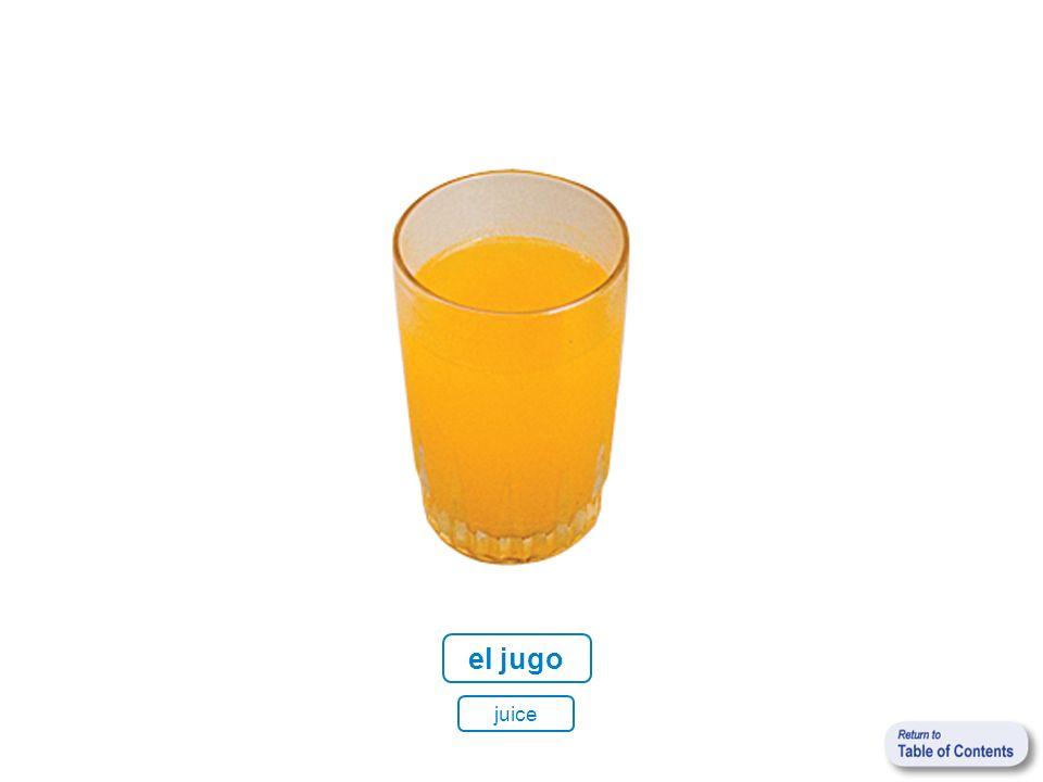 el jugo juice
