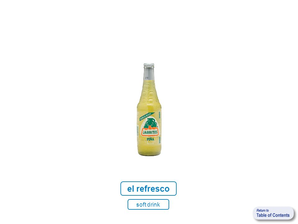 el refresco soft drink