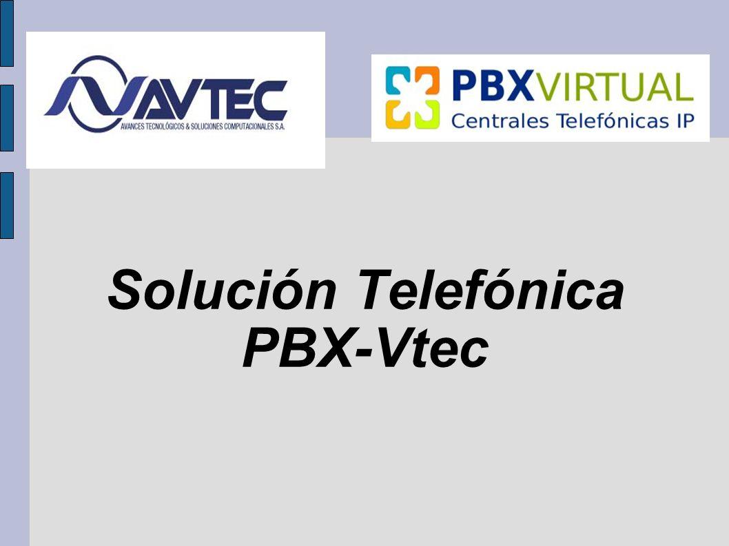 Solución Telefónica PBX-Vtec