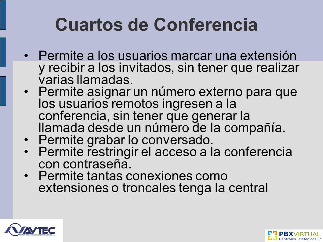 Cuartos de Conferencia