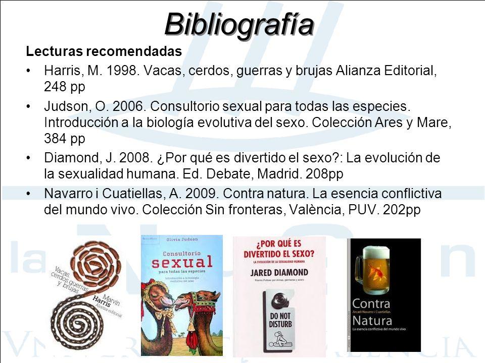Bibliografía Lecturas recomendadas