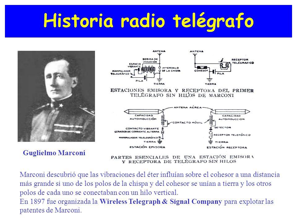 Historia radio telégrafo