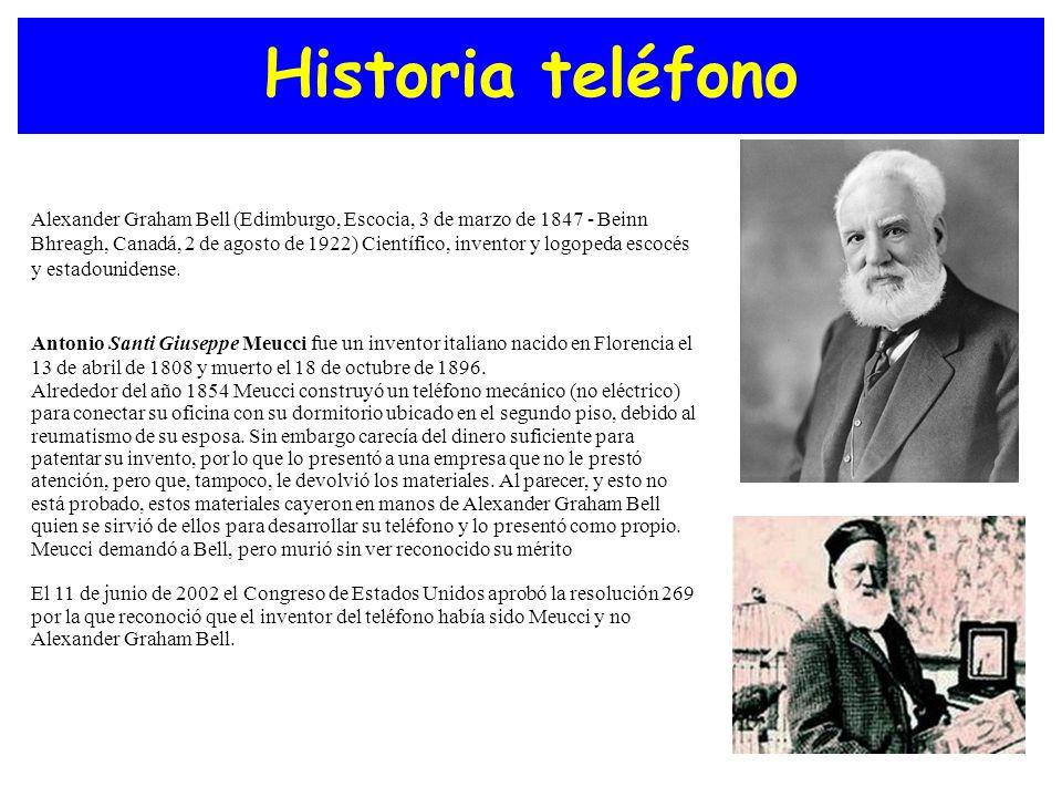 Historia teléfono