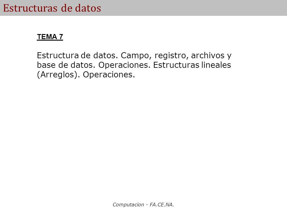 Estructuras de datos TEMA 7.