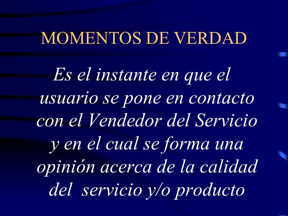 MOMENTOS DE VERDAD