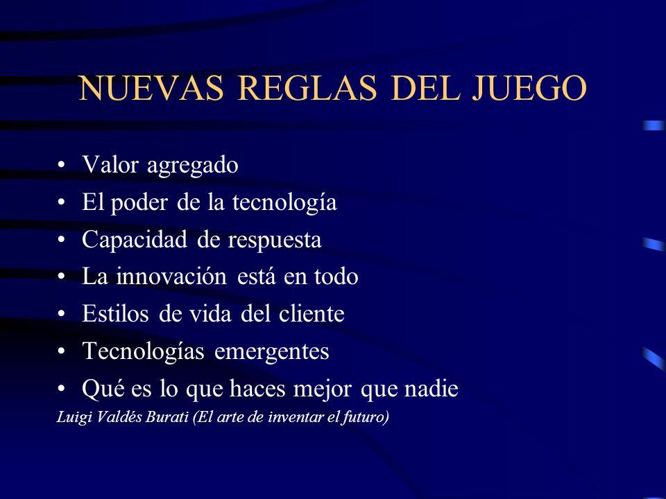 NUEVAS REGLAS DEL JUEGO