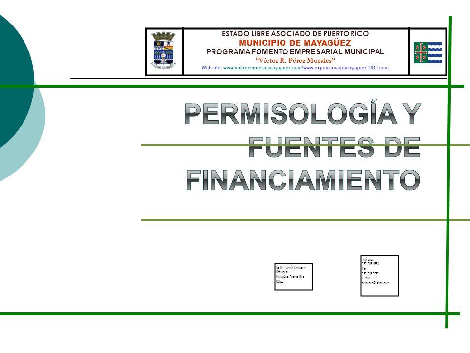 Permisología y Fuentes de financiamiento