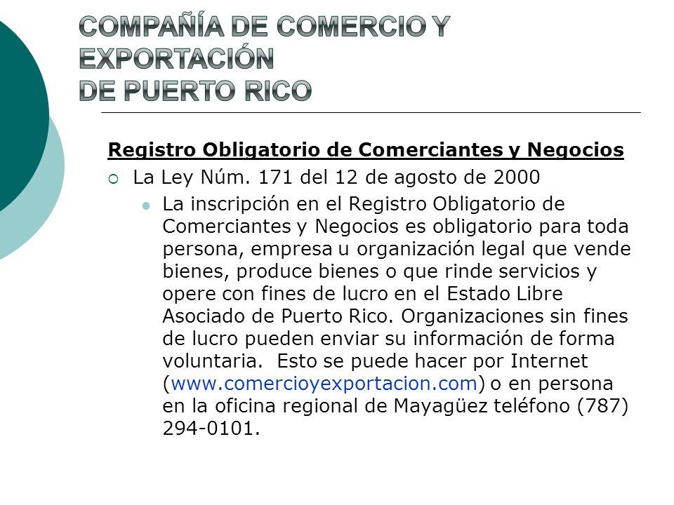 Compañía de Comercio y Exportación de Puerto Rico