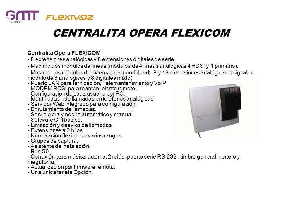 CENTRALITA OPERA FLEXICOM