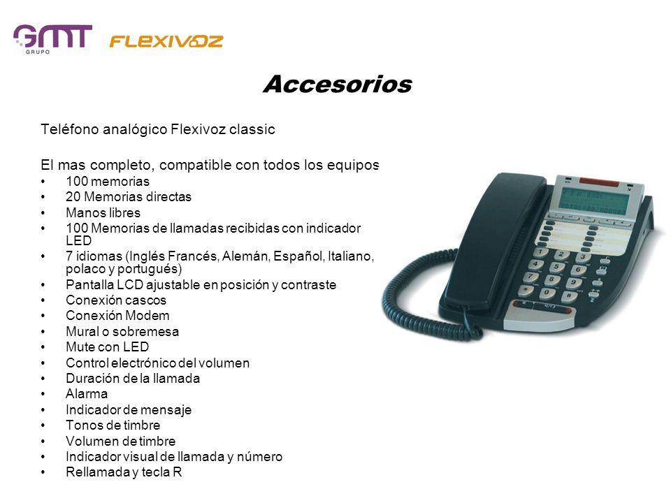Accesorios Teléfono analógico Flexivoz classic