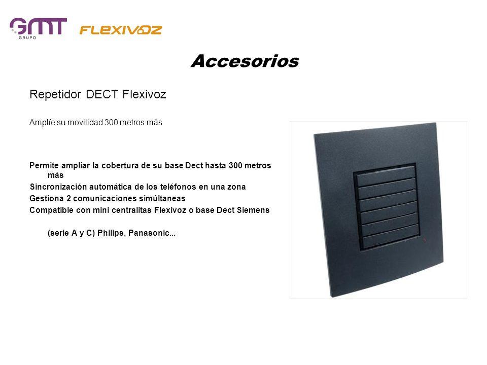 Accesorios Repetidor DECT Flexivoz Amplíe su movilidad 300 metros más