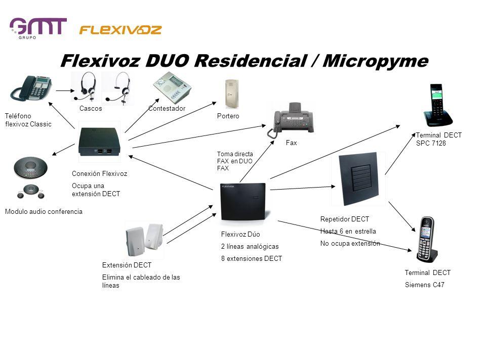 Flexivoz DUO Residencial / Micropyme