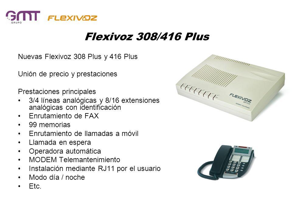 Flexivoz 308/416 Plus Nuevas Flexivoz 308 Plus y 416 Plus